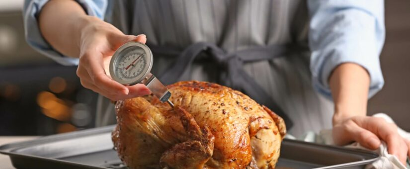 Where Should A Food Handler Check the Temperature of Food?